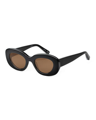 Fray Cat-Eye Acetate Sunglasses