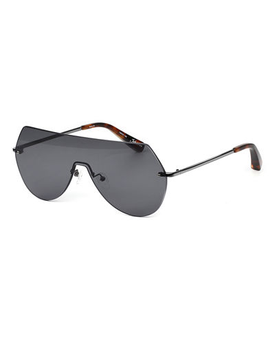 bd32cbe2b4 Quick Look. Elizabeth and James · Johnston Rimless Shield Sunglasses
