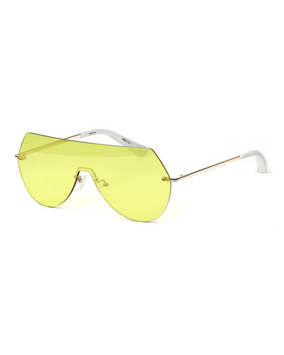 Johnston Rimless Shield Sunglasses