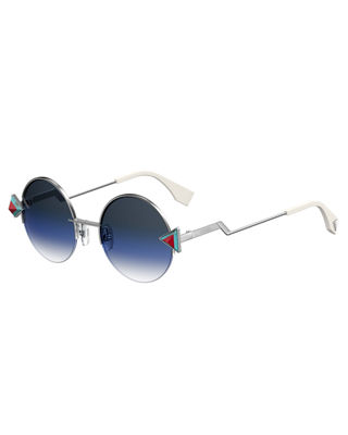 Rainbow Round Sunglasses