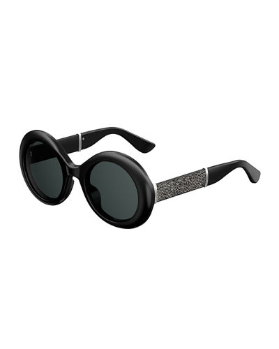 Wendy Round Metallic Sunglasses