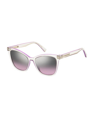 Transparent Butterfly Sunglasses