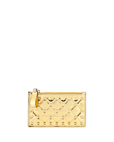 Rockstud Spike Coin Purse/Card Case