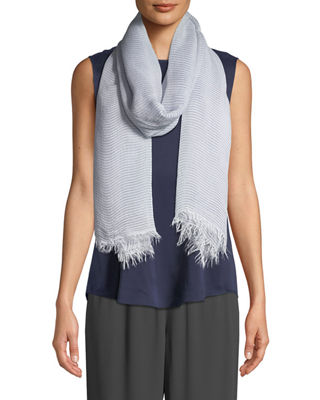 Eileen Fisher Sequin-Striped Wrap