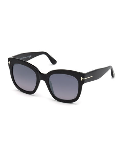 Beatrix Square Plastic Sunglasses