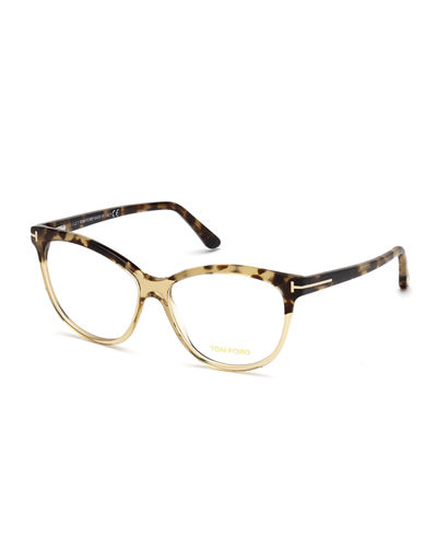 Cat-Eye Plastic Optical Frames
