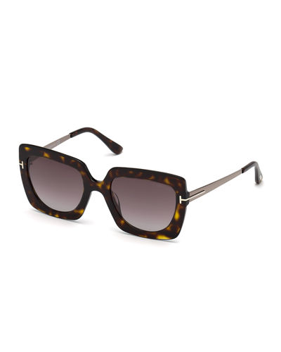 Jasmine 02 Metal & Plastic Square Sunglasses