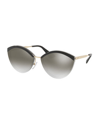 Prada Plastic Cat-Eye Sunglasses