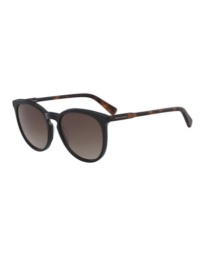 Cat-Eye Keyhole Bridge Sunglasses