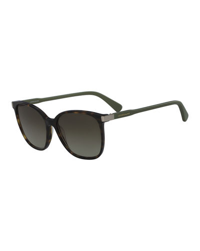 Square High-Temple Sunglasses