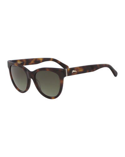 Cat-Eye Acetate Gradient Sunglasses