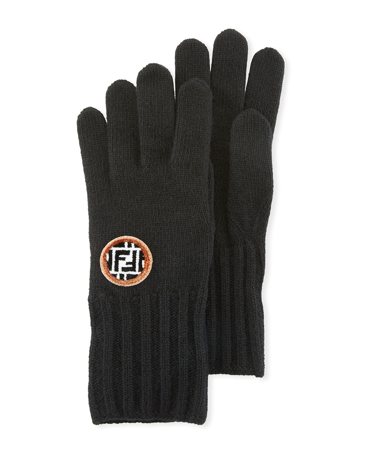 Wool/Cashmere FF Knit Gloves