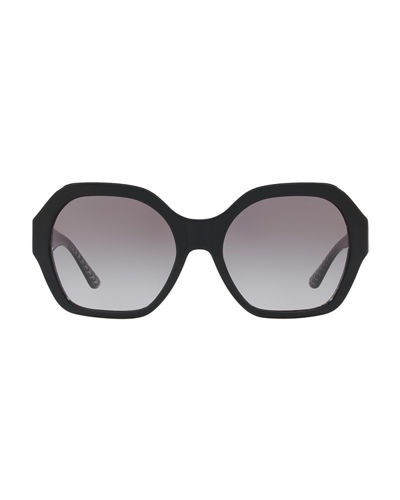 Octagon Gradient Acetate Sunglasses