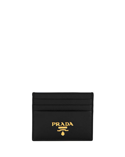 b59ae6a978f4 Quick Look. Prada · Saffiano Card Case. Available in Black