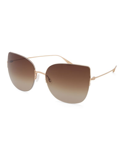 Voyant Cat-Eye Titanium Sunglasses