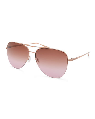 Chevalier Titanium Aviator Sunglasses