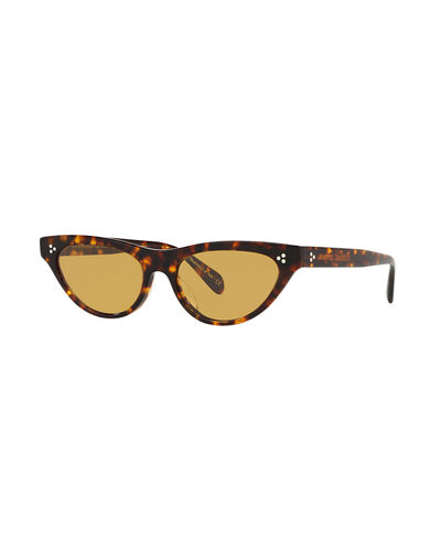 8ba98e6d8cb Quick Look. Oliver Peoples · Zasia Cat-Eye Acetate Sunglasses ...