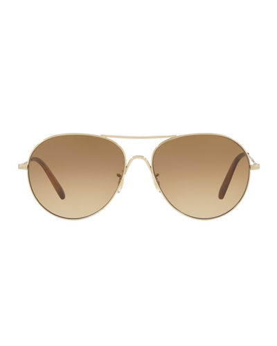 Rockmore Photochromic Metal Aviator Sunglasses