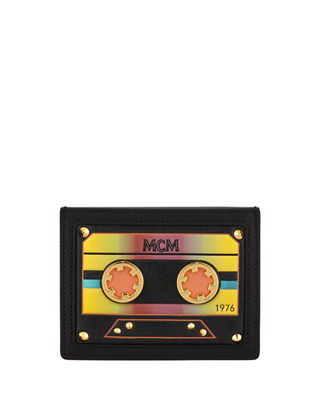MCM Cassette Tape Mini Card Case