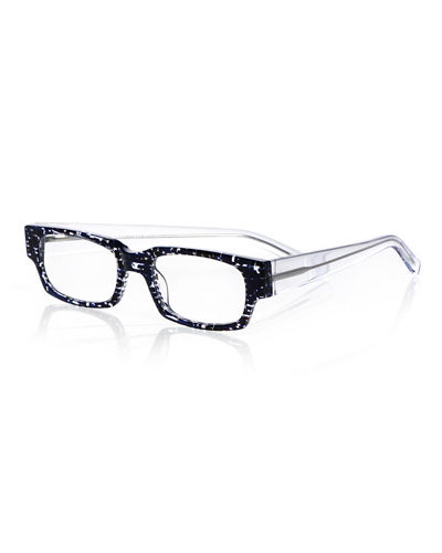 Peckerhead Rectangle Acetate Reading Glasses