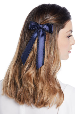 Jennifer Behr Olivia Silk Bow Barrette