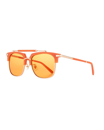 Cocktails & Dreams Square Sunglasses