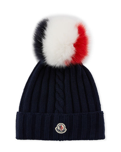 Quick Look. Moncler · Berretto Knit Beanie ... 36c8ad3265f2