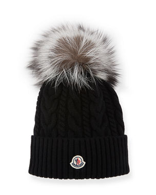 df0279677f0e Moncler Beanie Hats   Accessories at Neiman Marcus