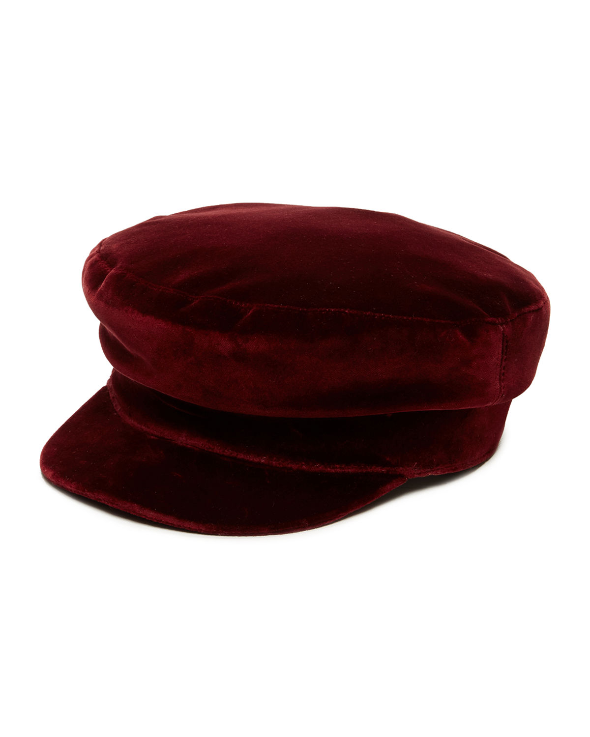 Mattie Velvet Newsboy Hat