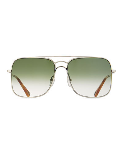 Ricky Gradient Aviator Sunglasses