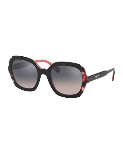 Mirrored Acetate Sunglasses