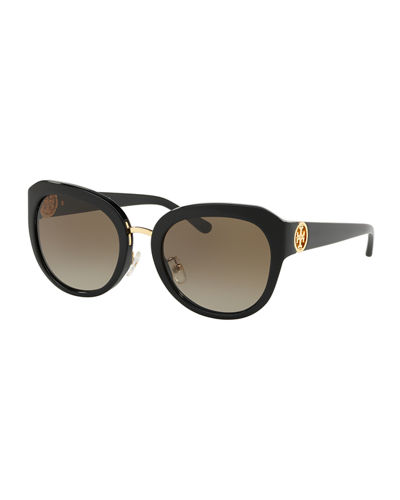 Acetate Butterfly Gradient Sunglasses