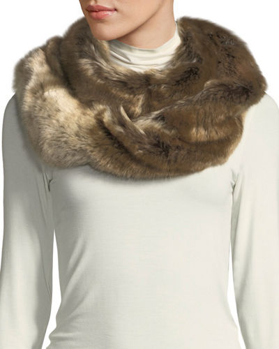 53a1f5434 Quick Look. Fabulous Furs · Oversized Eternity Faux-Fur Scarf