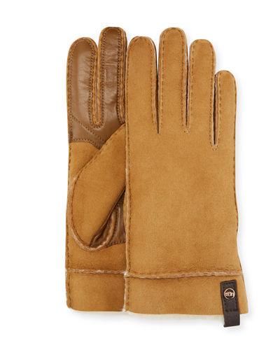 3f5d19196 Quick Look. UGG · Tenney Suede & Leather Gloves w/ Shearling Lining