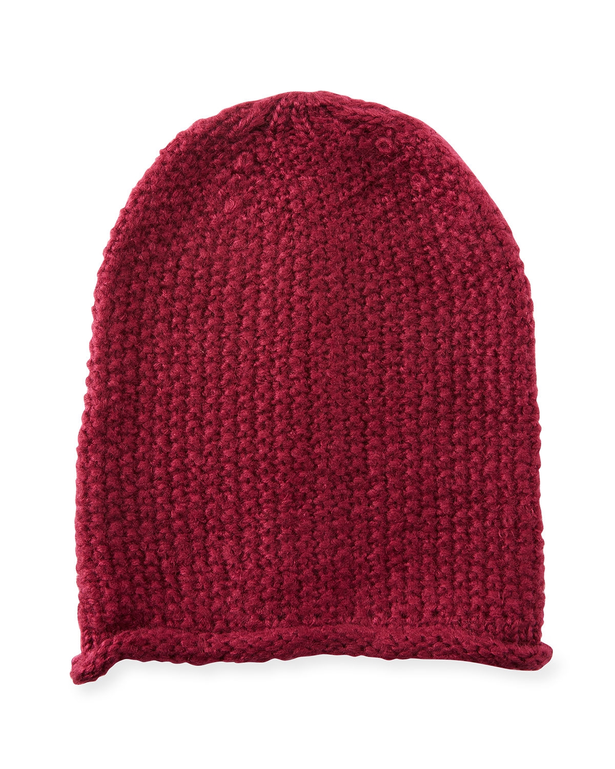Simple Solid Slouchy Beanie Hat