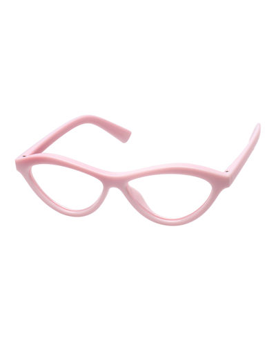 Fifty Fails A Day Blue Block Cat-Eye Reading Glasses