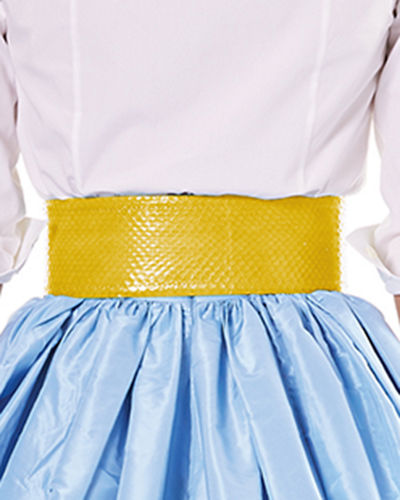 Wide Patent Water Snake Belt