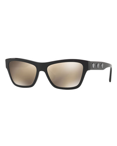 Medusa Acetate Square Sunglasses