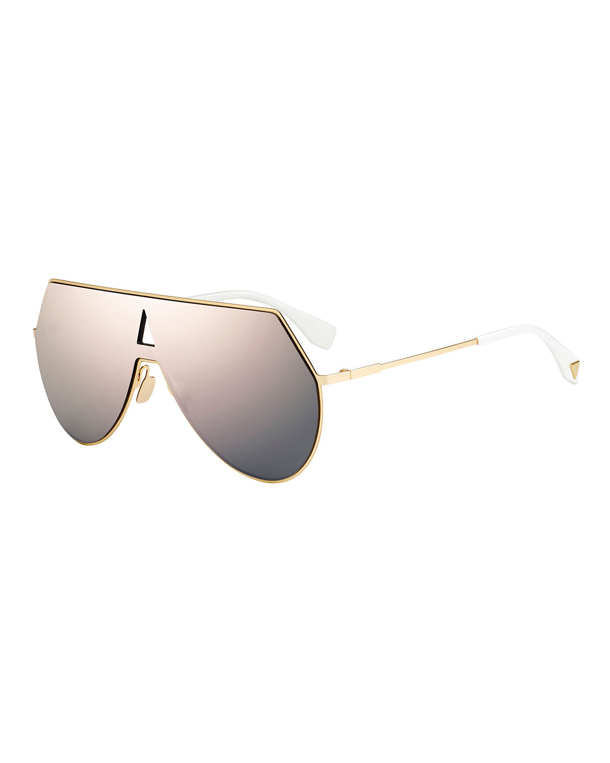 Eyeline Mitered Shield Sunglasses