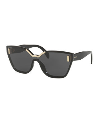 Prada Butterfly Shield Sunglasses