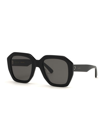 Square Adjusted-Fit Acetate Sunglasses