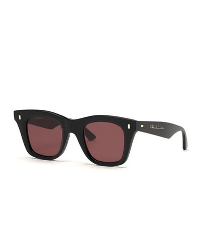 0538556c33c7 Quick Look. Celine · Square Acetate Sunglasses