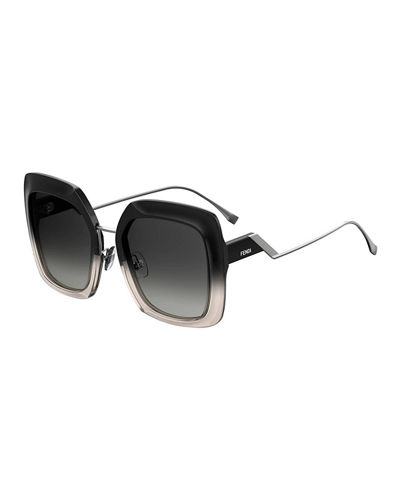 36f191755e Fendi Logo Sunglasses