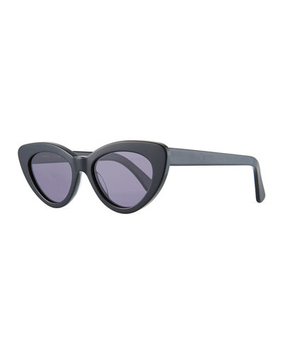 Pamela Two-Tone Cat-Eye Sunglasses