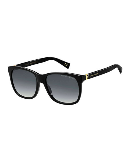 The Marc Jacobs Square Gradient Sunglasses
