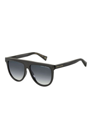 The Marc Jacobs Flattop Teardrop Sunglasses