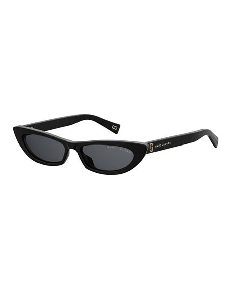 The Marc Jacobs Slim Cat-Eye Acetate Sunglasses