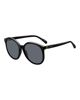 Round Acetate Sunglasses by Givenchy