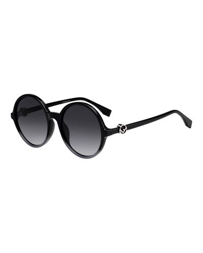 Round Gradient Propionate Sunglasses