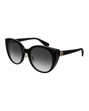 60bd8b168f8 Designer Cat Eye Sunglasses at Neiman Marcus